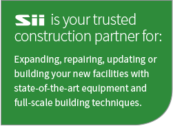 Sii is your trusted construction partner
